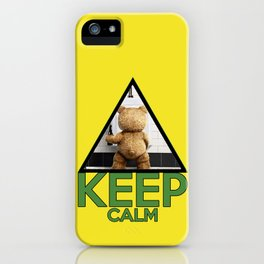 "Keep Calm ""Ted"" iPhone Case"