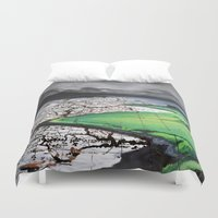 atlas Duvet Covers featuring Scottland Atlas by The Whiskey Ginger