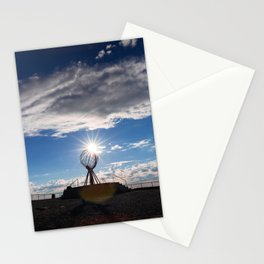 """71°10' 21"""" N - Norway Stationery Cards"""