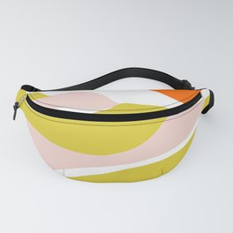 sierra mountain sunset Fanny Pack