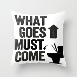 Attention MEN! Throw Pillow