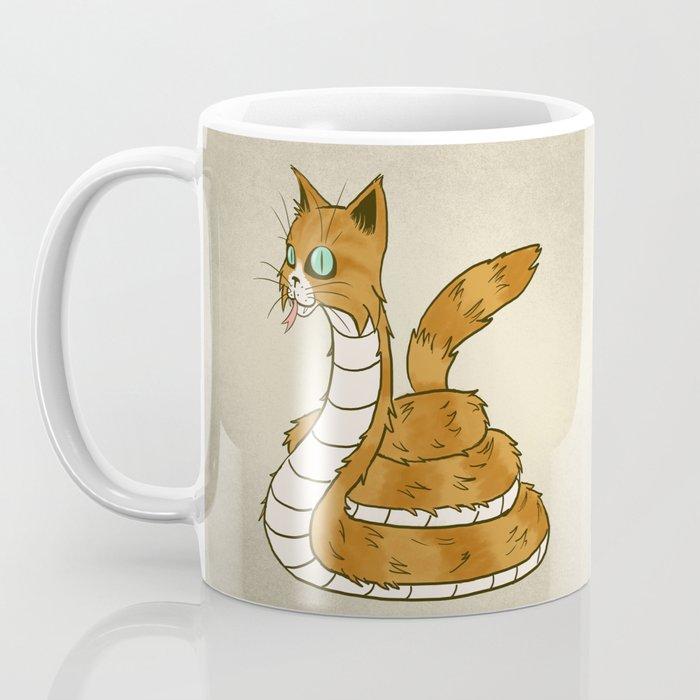 Cat Snake Coffee Mug