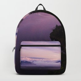 mahinapua golden hours purple Backpack