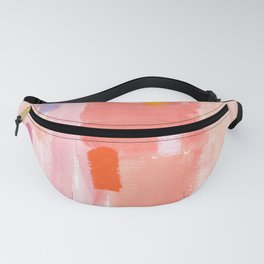 Put Sorrows In A Jar - abstract modern art minimal painting nursery Fanny Pack