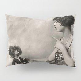 Naughty Dolly Pillow Sham