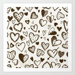 Loventine Art Print