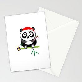 Holiday Panda Stationery Cards