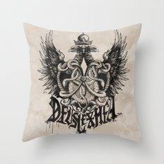 Deus Lex Mea - God is my Light Throw Pillow