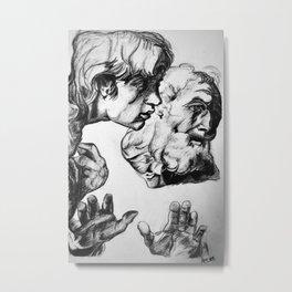 Raphael Transfiguration Study Metal Print