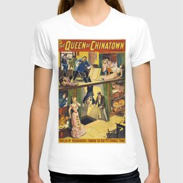 Vintage poster - The Queen of Chinatown T-shirt