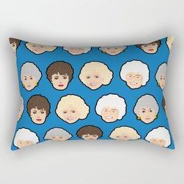 The Golden Girls Blue Pop Art Rectangular Pillow