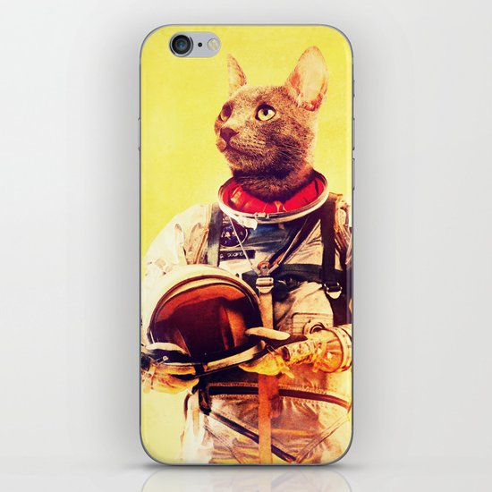 Captain Cat iPhone & iPod Skin