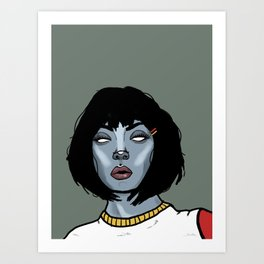 Molly bloo Art Print