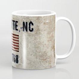 Tribute to Charlotte, NC, EST. 1768 Coffee Mug