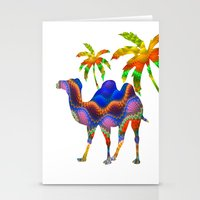camel Stationery Cards featuring Camel by haroulita