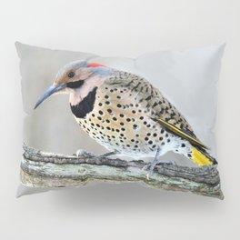 Fancy Fellow: Northern Flicker Woodpecker Pillow Sham