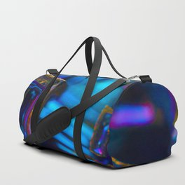 Blue Bismuth Duffle Bag