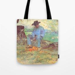 """Henri de Toulouse-Lautrec """"Le Jeune Routy à Céleyran"""" Tote Bag"""