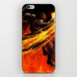 Roy Mustang iPhone Skin
