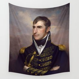 President William Henry Harrison Wall Tapestry
