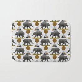 Tribal Elephant Bath Mat