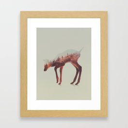 Norwegian Woods: The Deer Framed Art Print