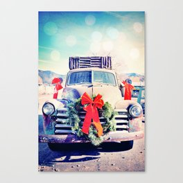 Christmas In Taos, New Mexico Canvas Print