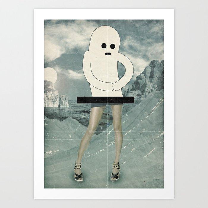 in gamba Art Print