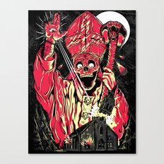 THE END IS NIGH Canvas Print