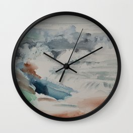 Ocean Surf Wall Clock