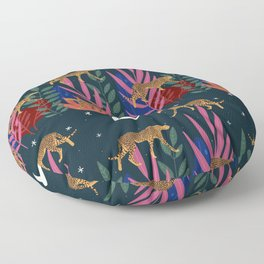 Wild & Free Jungle Cat Floor Pillow