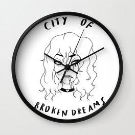 CITY OF BROKEN DREAMS. Wall Clock