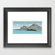 Lake Garda Framed Art Print