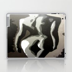 Abstract Female Silhouette Sepia toned Shadows Light study Laptop & iPad Skin