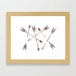 Arrow Stack Framed Art Print