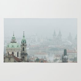 Cold Mornings over Prague Rug