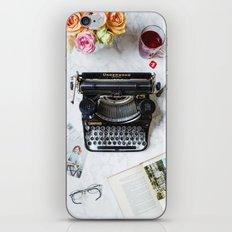 Typewriter Love. iPhone Skin