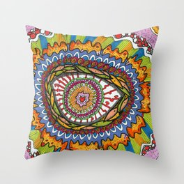 Healing Cells Throw Pillow