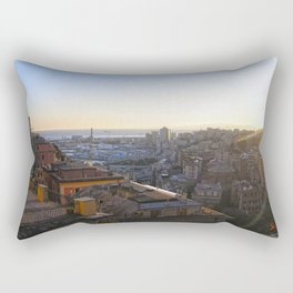 Tramonto a Genova Rectangular Pillow