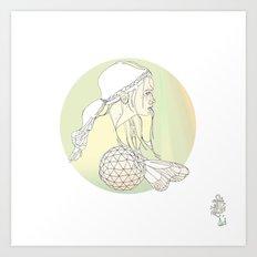 L O C K S Art Print