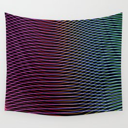 lines and patterns wing light painting Wall Tapestry