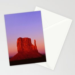 Sunset at Monument Valley Stationery Cards