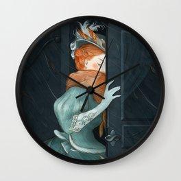 Irene Adler - Sherlock Holmes Wall Clock