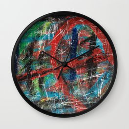 Hick Spit  Wall Clock