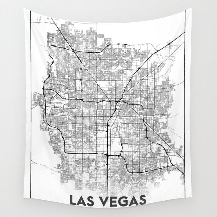 Minimal City Maps Map Of Las Vegas Nevada United States Wall - Las-vegas-us-map