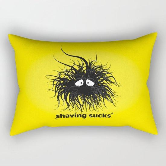 SHAVING SUCKS Rectangular Pillow