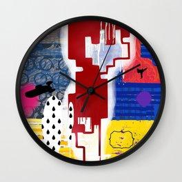 No Line On The Horizon Wall Clock