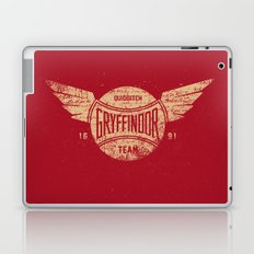 Vintage Gryffindor Quidditch Team Laptop & iPad Skin
