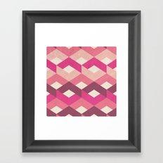 Pink Fancy Pattern Framed Art Print