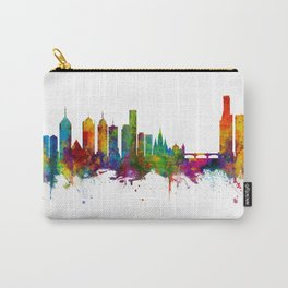 Melbourne Australia Skyline Carry-All Pouch